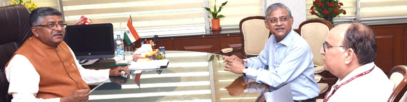 Minister Meeting with Secretary